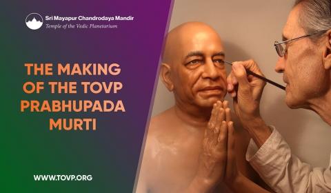 Το TOVP Prabhupada Murti
